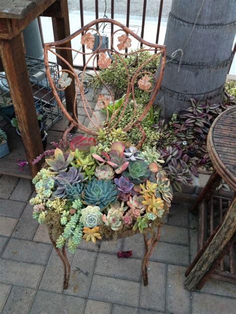 chaise bureau architecte 27 idées pour recycler de vieux meubles dans le jardin