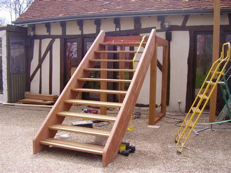 escalier exterieur par toutenbois37 sur l air du bois