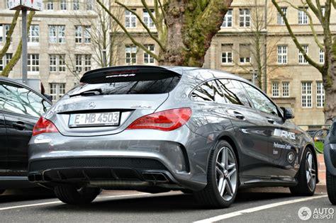 Mercedes cla shooting brake at the 2019 geneva motor show. Mercedes-Benz CLA 45 AMG Shooting Brake - 12 April 2015 - Autogespot