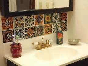 mexican tile backsplash kitchen best 25 mexican tiles ideas on mexican style 7484
