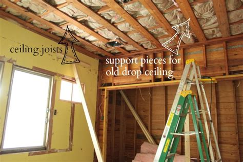Ceiling Joist Spacing For Drywall by How To Drywall A Ceiling