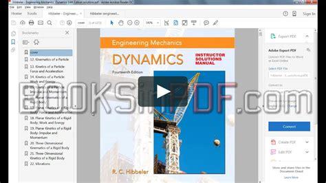 Engineering Mechanics Dynamics 11th Edition Pdf Drive