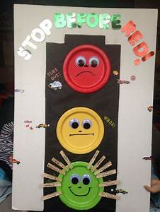 Stop Light For Behavior With Clothes Pins Quot Stop Before