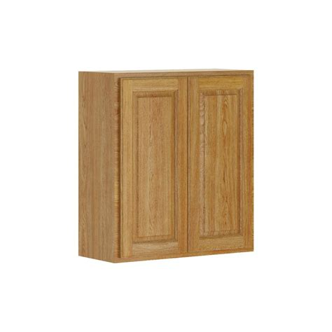 oak kitchen cabinets home depot assembled 12x30x12 in wall kitchen cabinet in unfinished