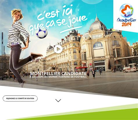 cool montpellier candidate la coupe du monde de football fminin montpellier mditerrane mtropole