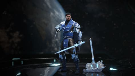 Sub Zero with no hood or mask is gear INJUSTICE