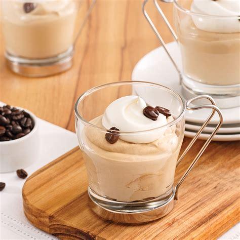 cuisine pratique et facile verrines mousselines au café recettes cuisine et