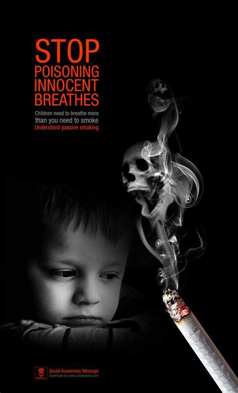 children passive smoking creative sect
