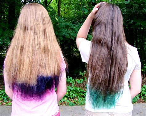 colored tips colored tips brown hair with colored tips 2015 2016