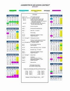 Elementary Calendar | Calendar Template 2016