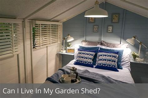 can i live in my garden shed waltons waltons sheds