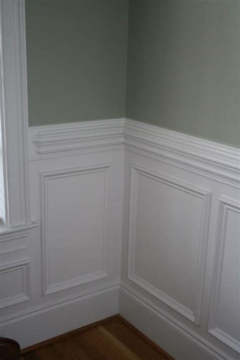 wall trim moulding traditional wainscoting with