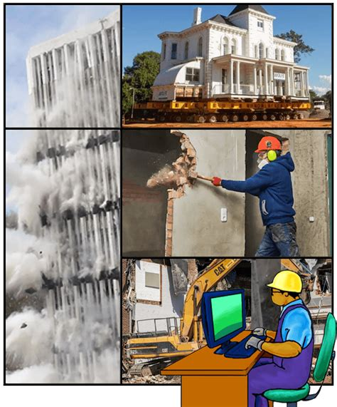 building moving demolition  contractors