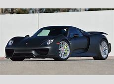Only Carbon Exposed Porsche 918 Spyder Weissach in the US