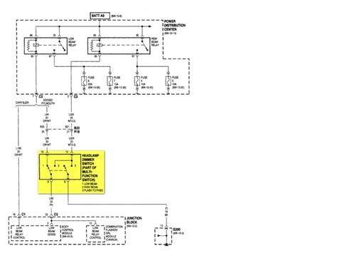 1998 Caravan Wiring Schematic by Wiring Diagram For 2004 Dodge Grand Caravan Wiring Forums