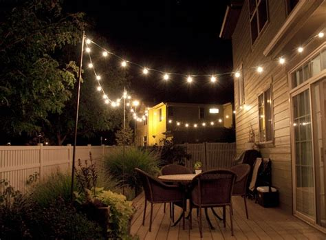 String Patio Lights by 15 Collection Of Solar Garden Lights Costco