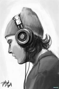 Headphone Guy by vihena on DeviantArt