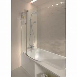 Ensemble De Douche : ensemble baignoire bain douche 160 x 85 cm version gauche ~ Premium-room.com Idées de Décoration
