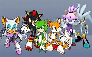 New Sonic Character wallpaper by TailsThePrower71 on ...