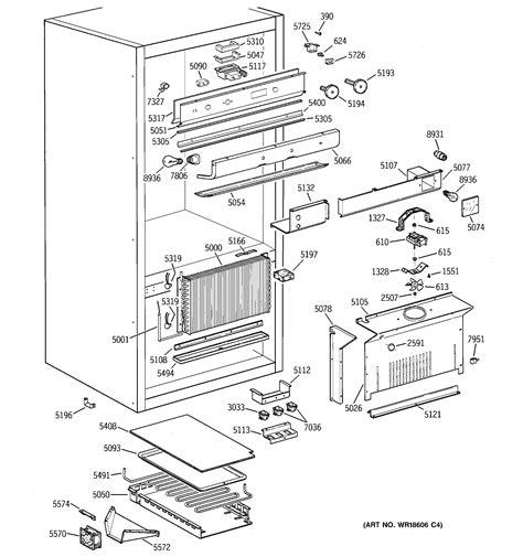 ge monogram ice maker parts diagram wiring