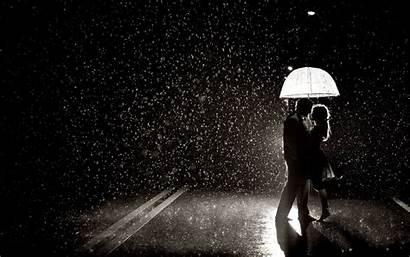 Umbrella Under Romance Rain Couples Entertainmentmesh