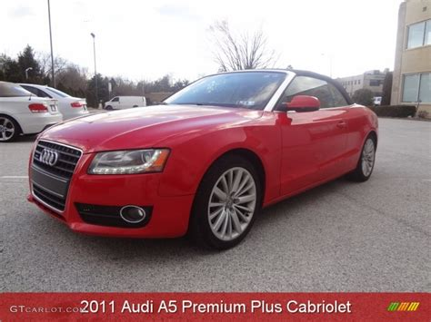 convertible audi red 2011 brilliant red audi a5 2 0t quattro convertible
