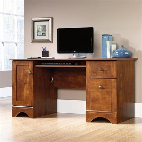 sears dining room sets computer desk in brushed maple 402375