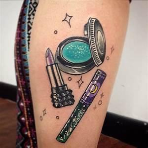 13 Makeup Tattoo Ideas For Classy Ladies   Tattoodo