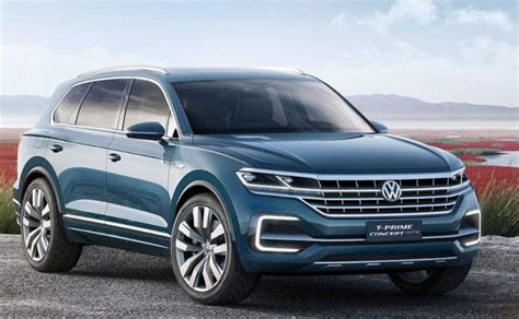 vw touareg  seater  specs release date price