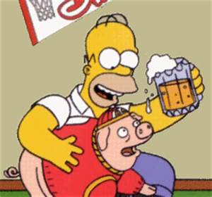 Homer Goes to C... Simpson Drunk Quotes