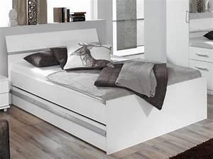 Bett Mit Bettkasten 90x200 Weiß : bett 140x200 6sch be wei komfortbett ~ Bigdaddyawards.com Haus und Dekorationen