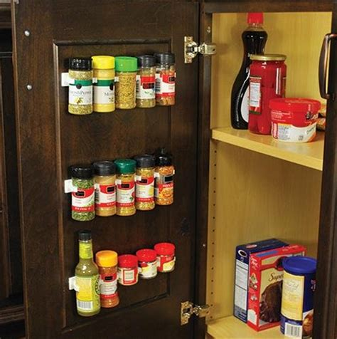 Spice Rack Organizer by 4x Spice Jar Wall Rack Storage Organizer Kitchen Cabinet