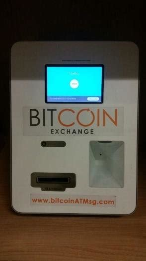 How does bitcoin atm work? Bitcoin ATM machine where users can deposit cash for bitcoins, which... | Download Scientific ...