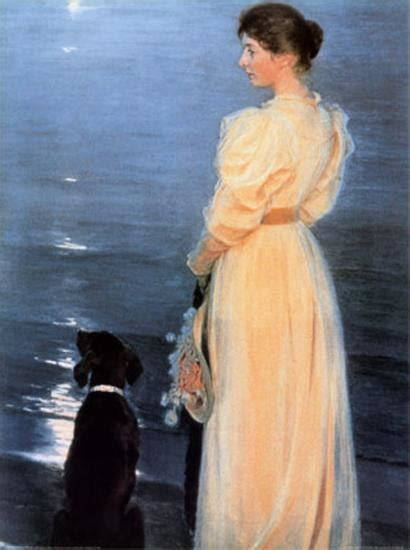 summer evening  skagen posters  peder severin kroeyer