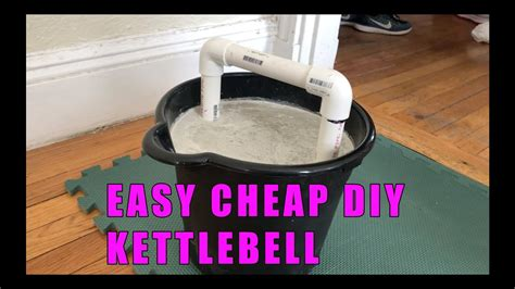 diy kettlebell cheap