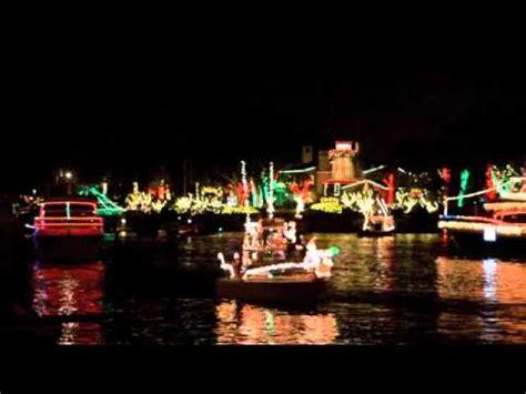 Newport Beach Annual Boat Parade by Newport Beach 2011 Annual Christmas Boat Parade Youtube