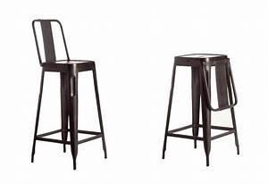 Chaise De Bar Pliable : tabouret et chaise de bar industriel 27 id es d co ~ Nature-et-papiers.com Idées de Décoration