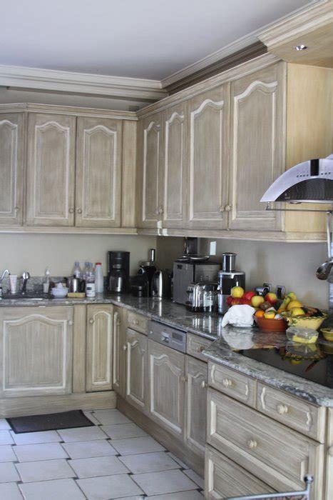 cuisine peinte en gris photo cuisine et peinture déco photo deco fr