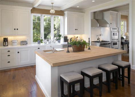 Dazzling Butcher Block Island In Kitchen Modern With