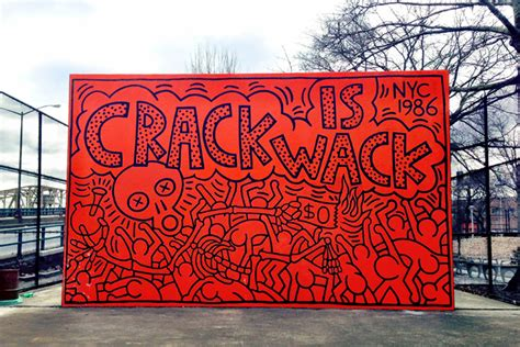 keith haring mural nyc the is wack mural by keith haring 1986 harlem nyc antoinette