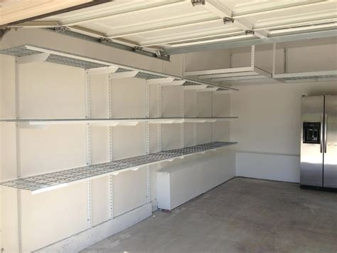 garage wall shelving garage wall shelving systems