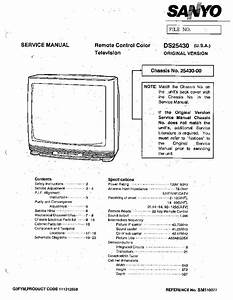 Sanyo Ds25430 Service Manual Download  Schematics  Eeprom