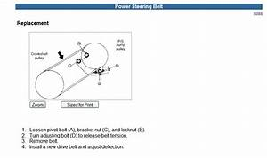 How Do I Replace An Alternator Belt In A 2002 Kia Spectra