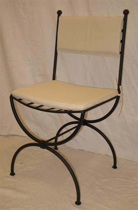 coussin chaise fer forgé dessus de chaise fer forge