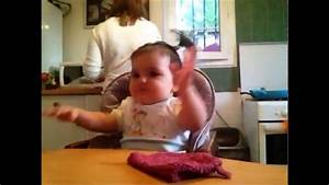 Funny dancing Baby on Daddy's Beatbox - YouTube
