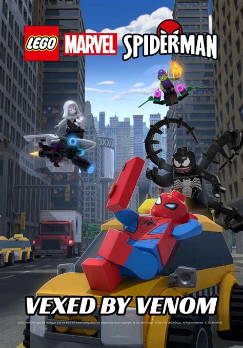 lego marvel spider man vexed  venom marvel