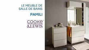Meuble Salle Bain Castorama : meuble de salle de bains pamili cooke lewis castorama youtube ~ Melissatoandfro.com Idées de Décoration
