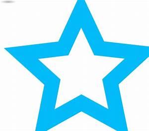 Blue Star Outline Clip Art at Clker.com - vector clip art ...
