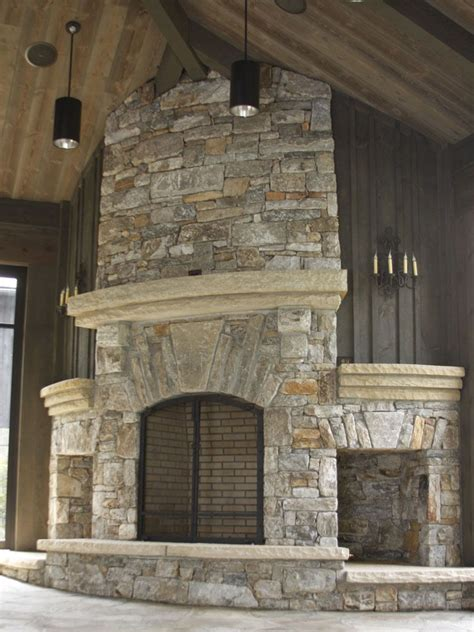 stonefireplacestorage native stone fireplace  arch