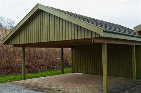 Carport Dacheindeckung